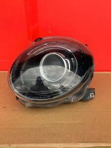 2012-2017 FIAT 500 LEFT HALOGEN BLACK HEADLIGHT