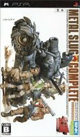 Metal Slug Complete PSP SNK Playmore Sony PlayStation Portable From Japan