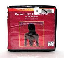 BOOK/AUDIOBOOK CD R.M. Johnson Fiction Novel DO YOU TAKE THIS WOMAN?
