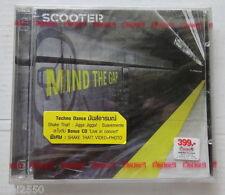 SCOOTER : Mind The GAP 2 CD Bonus LIVE in Concert THAILAND  Sealed ...Rare!