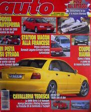 Auto 10 1996 A3: la Golf del 2000 vestita da Audi. Renault Spider. Ford KA [Q70]