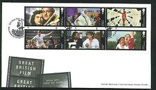 2014 FDC-GPO Pellicola unità Set Notte Mail NUOVO ST Postmark-inviato post libero