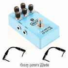 MXR Analog Chorus Electric Guitar Effects Pedal Dunlop M234 NEW w 2 Patch Cables