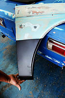 Datsun 1600 510 rust repair panel FRONT quarter (Right OR Left side)