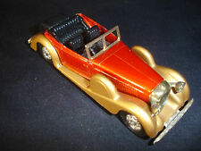 1972 Matchbox Models Of Yesteryear Y-11- Lagonda Drophead Coupe Diecast Toy Car