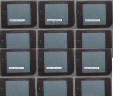 98 Piece LOT 48 Screens For Gameboy GBO GBP GBC GBA + 50 Batteries CR2032 W/tabs
