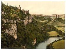 The Rudelsburg Kosen Thuringia A4 Photo Print
