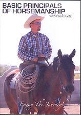 DVD Paul Dietz-Basic Principles of Horsemanship-Worked 4 Buck Brannaman