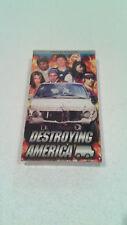 New listing Vintage Sealed Destroying America Skateboard Tony Hawk Hook Ups Truck Movie Vhs