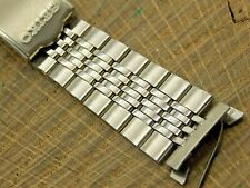 Vintage Seiko Deployment Clasp Watch Band Stainless Steel 18mm NOS Unused Mens