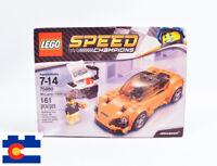 Lego 75880 Speed Champions McLaren 720S 2017 Supercar Hypercar 3 Orange Sports