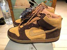 2003 Nike Dunk Hi Pro SB Maple Brown size 10