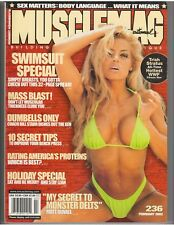 MUSCLEMAG bodybuilding muscle SWIMSUIT magazine/WWE Diva TRISH STRATUS 2-02 #236