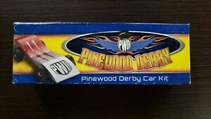 Boy Scouts of America Pinewood Derby Car Kit NOS