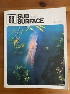 Subsurface Journal 1 signed carp fishing book Gareth Fareham no barbel perch