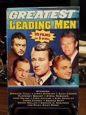 Brand New In Package ~ Greatest Leading Men - 20 Films on 5 DVDs (2006)