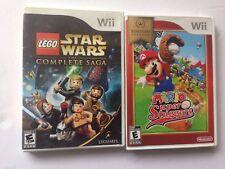 LEGO Star Wars: The Complete Saga - Nintendo & MARIO Super Slagged Wii Games