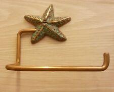 Brass Star Fish Spigot Tissue Paper Holder Hanging ฺToilet Vintage Home Decor