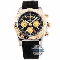 Breitling Chronomat GMT 44 CB042012/BB86 Auto Steel Rose Gold Mens Watch Date