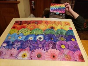 """Buffalo Games """"Blooms Of Color"""" Vivid Collection 1000 Piece Jigsaw Puzzle"""