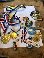 Collectors Or Resellers Lot Of Pins Pinbacks And Other Goodies Kennedy Button