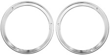 1963 Chevy Truck Chrome Head Light Bezels LH & RH Set