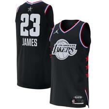 Lebron James Los Angeles Lakers 23  All Star Black NBA Basketball Jersey Shirt