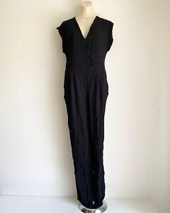 Santa Maria Ladies Black Romper Size Medium