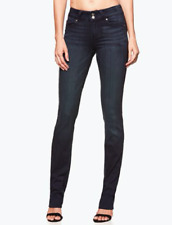 Paige Hidden Hills Straight Leg Dark Denim Jeans Midlake Size 27 $179