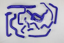 Renault R19 16S 12 hoses Silicon set COOLANT hose kit F7P valves BLUE