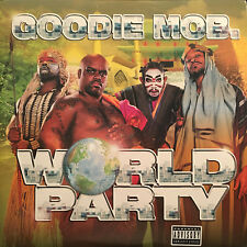 GOODIE MOB - WORLD PARTY (VINYL 2LP)  1999!!  RARE!!  OUTKAST + TLC + KANYE WEST
