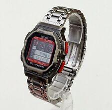 RARE,UNIQUE Men's DIGITAL Watch SEIKO W358-4A10. Worn Case and Bracelet