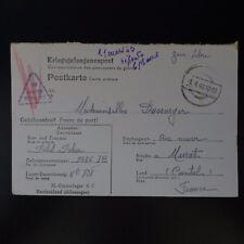 LETTRE PRISONNIER DE GUERRE STALAG X C -> MURAT KRIEGSGEFANGENENPOST POW