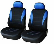 2x Schonbezüge Blau Polyester Autositzbezüge Sitzschutz Neu für Toyota KIA Opel