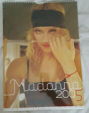 Rare sealed unopened Madonna UK calendar 2005