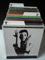 Filotrax CD DIVIDERS [White A-Z Kit] to file your collection - music & games