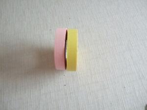 Washi Cinta Para Manualidades /& Decoración Metálico Oro Rosa Hojas 15mm X 10m Roll