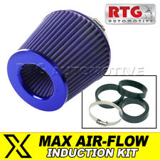 Induction Kit Performance Air Filter – Cone, Blue + Blue Fits Peugeot