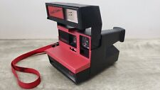 Vintage Polaroid 600 Cool Cam *Black & Red*