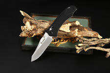 Ganzo G710 Axis Locking Foldable Camping Hunting Knife 440C Stainless Steel Blad