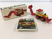 LEGO Systems Legoland 642 Vintage 70s Tractor Complete w/ Instructions & Box
