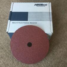 10 Floor Sander déligneuse abrasives hiretech HT7 GRI 80 feuilles abrasives disques