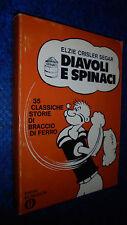 ELZIE SEGAR-DIAVOLI E SPINACI-OSCAR FUMETTI MONDADORI 177-1970-BRACCIO DI FERRO