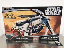 Star Wars The Saga Collection Republic Gunship NEW SEALED