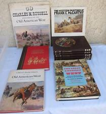 Lot of 9 Books on Old American Western Paintings & Indian Heritage Time Life L-M
