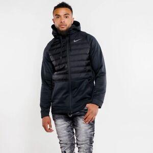Nike Men's Therma Winterized Full Zip Hooded Jacket BLACK BV6298-010 Medium New