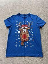Next Boys Christmas T-Shirt X2 Age 10yrs