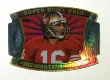 2011 Joe Montana Topps Super Bowl Giveaway Die Cut Insert Card #SB-62! Mint!