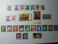 LOT 631 TIMBRES STAMP DIVERS ALLEMAGNE FEDERALE ANNEE 1972/78