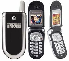 FLIP MOTOROLA V186/V180 UNLOCKED GSM MOBILE CELL PHONE FIDO ROGERS CHATR CUBA